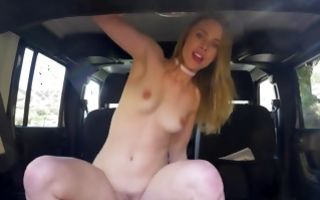 Sexy young girlfriend Anya Olsen nicely riding on meaty rod