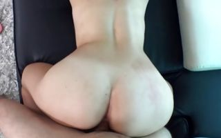 Awesome light-haired girlfriend Carli has painful rough sex